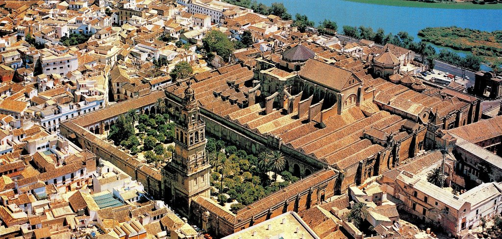 Great Mosque of Cordoba in Spain
