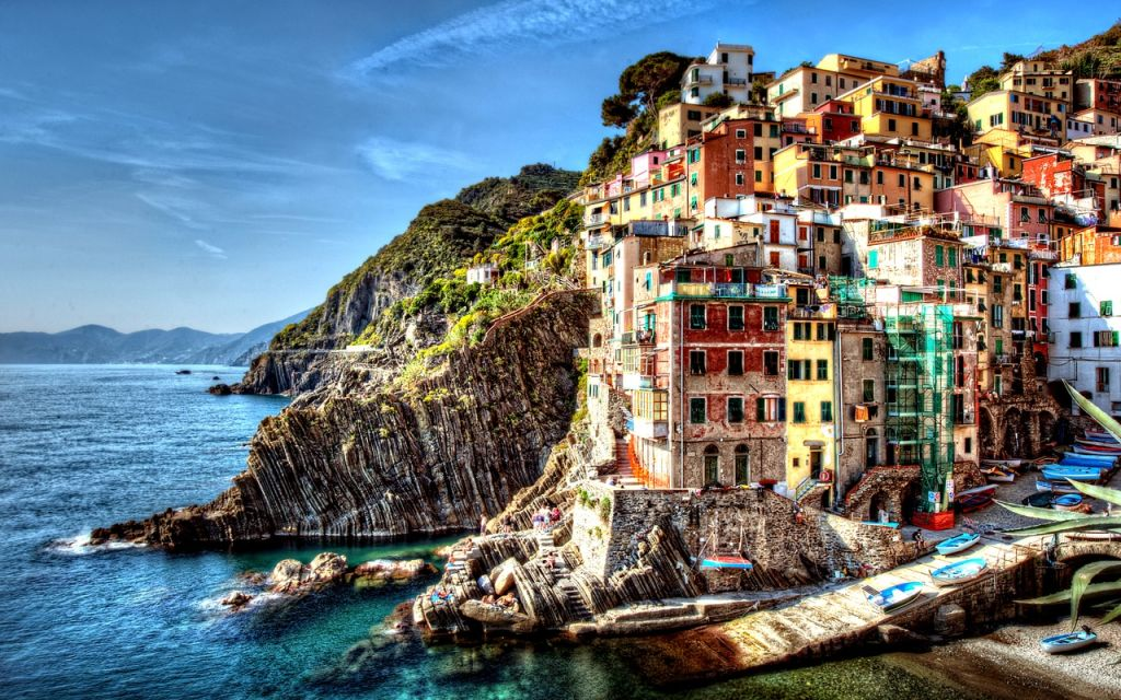 Cinque Terre villages are really popular tourist destinations