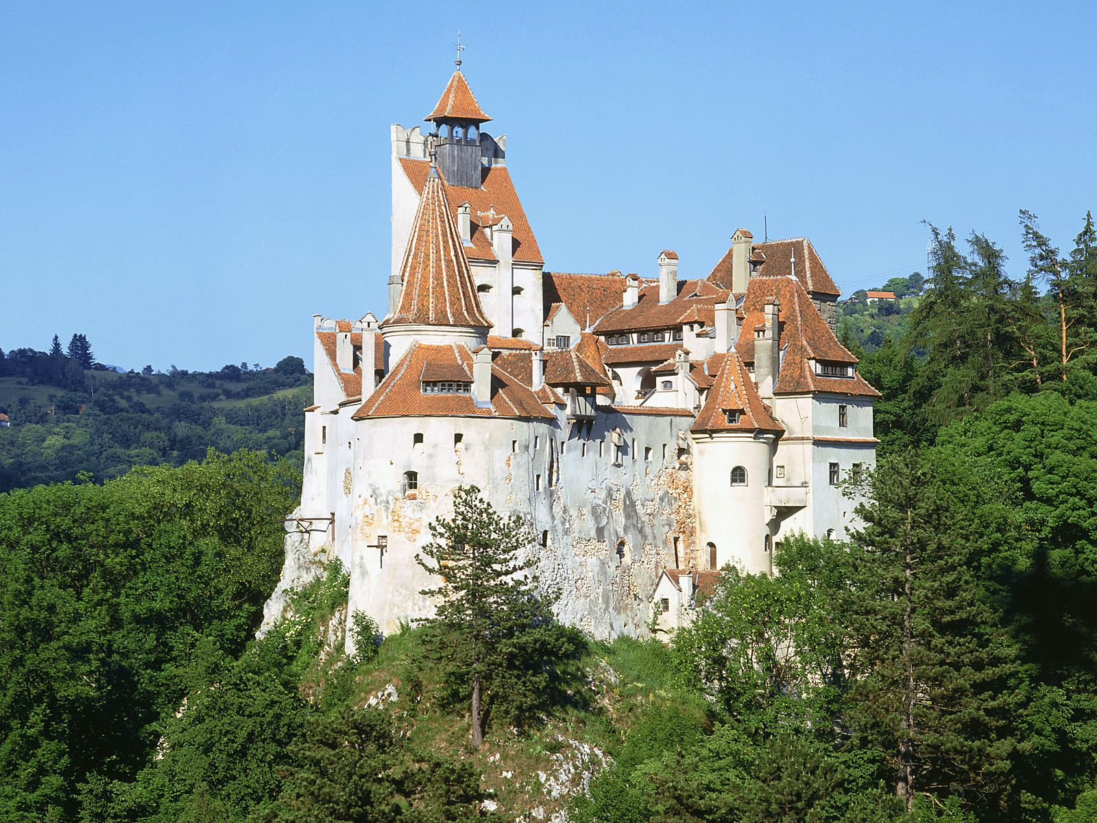 Bran Castle is the real Dracula Castle
