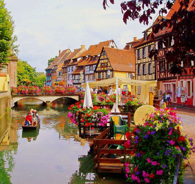 Colmar is the most beautiful town in France