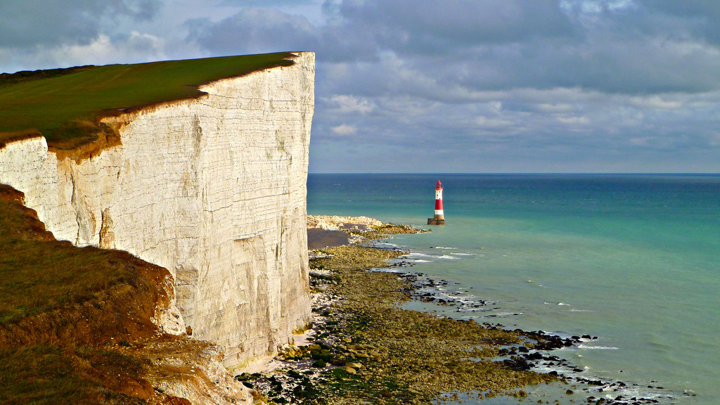 Beachy Head Cliff at Sussex is one of the greatest coastal areas in Europe