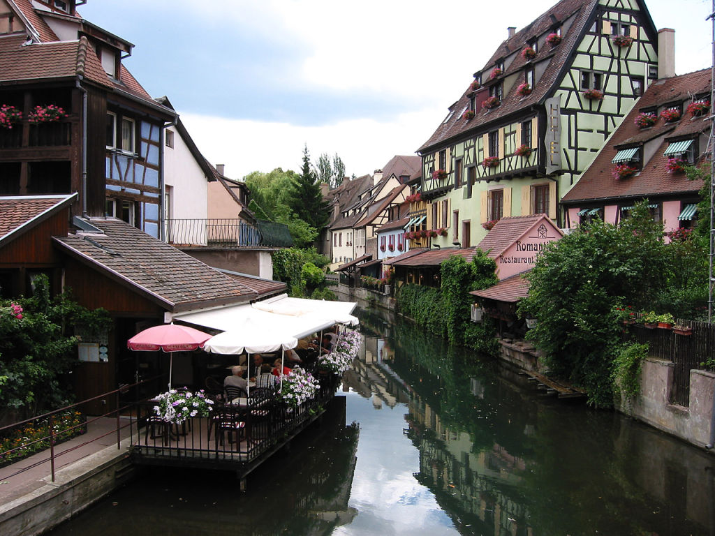 City of Colmar is a very popular tourist destination.