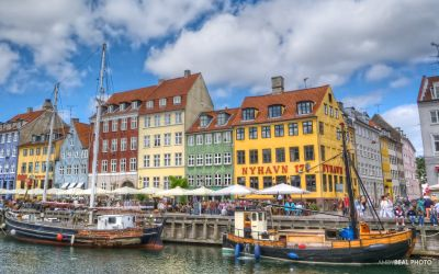 Nyhavn in Copenhagen is absolutely a must-see in Denmark.