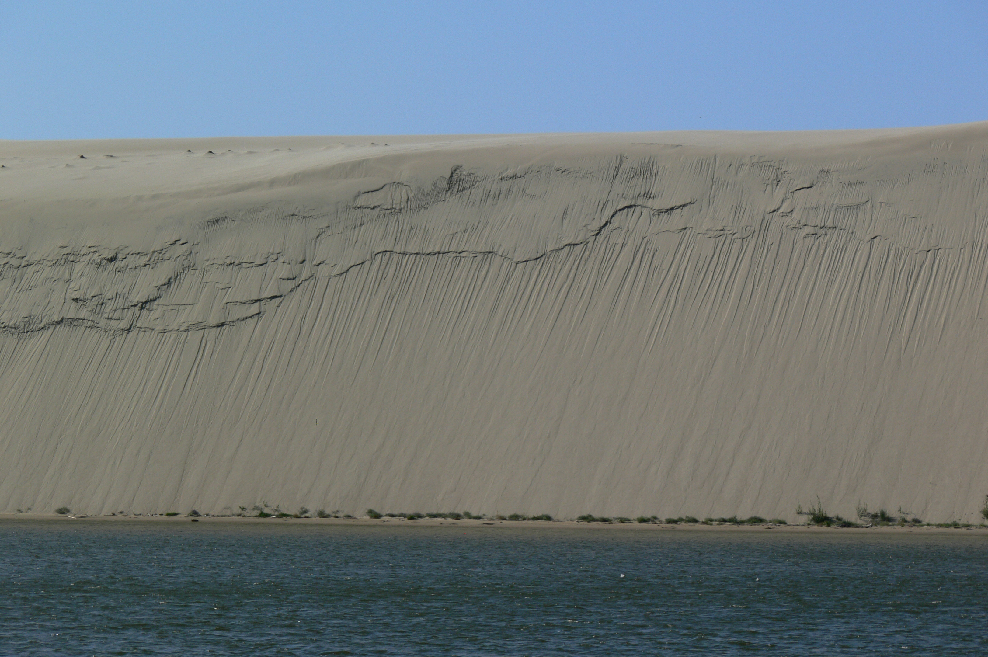 Highest moving sand dunes in Europe
