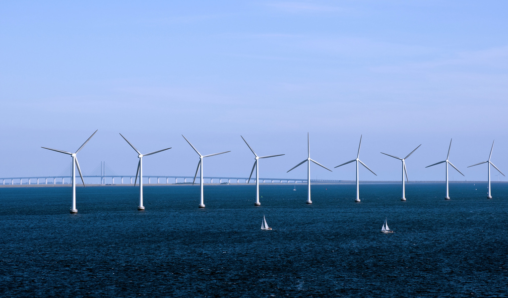 Denmark is world-famous for its offshore wind farms