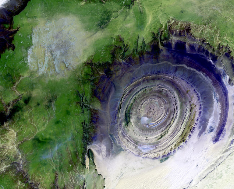 Geology Richat Structure