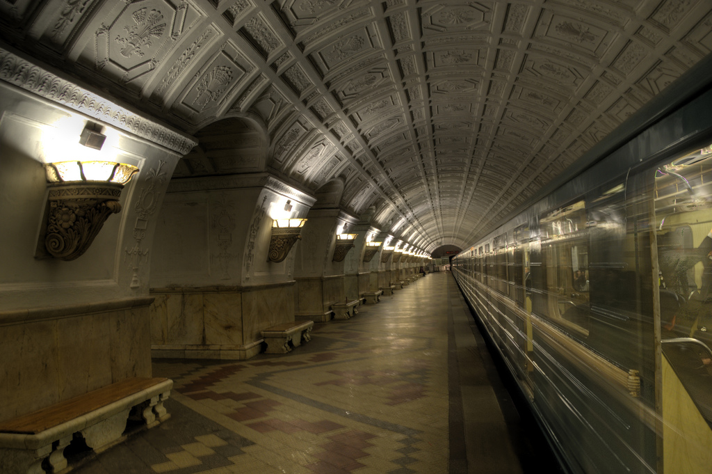 Moscow underground system