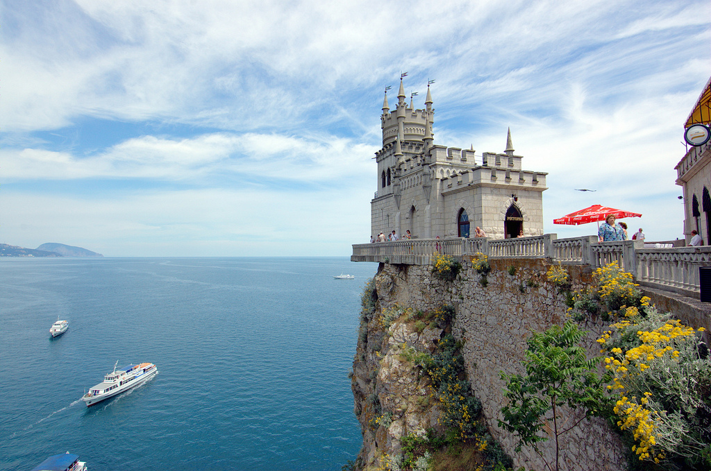 Swallow's Nest Castle Crimean Peninsula