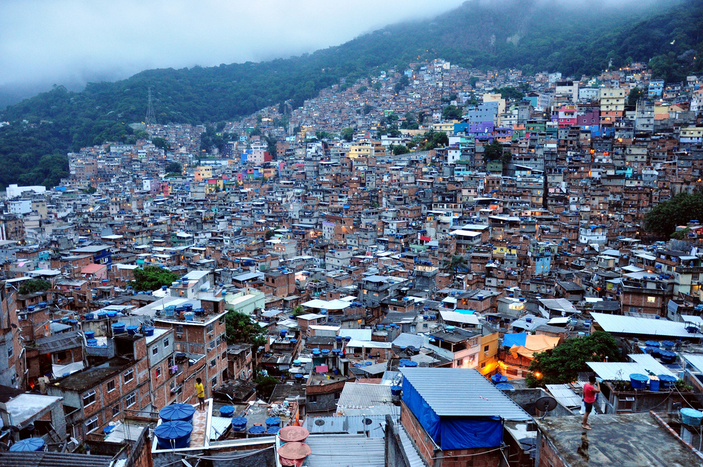 Rocinha slum district