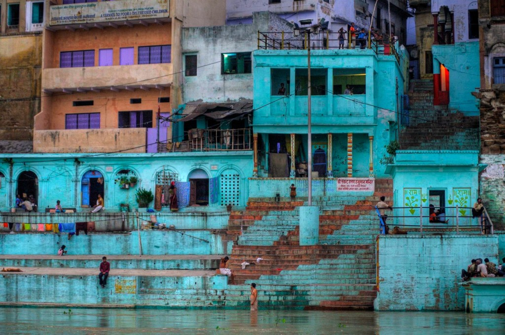 Benares, Ganga, India