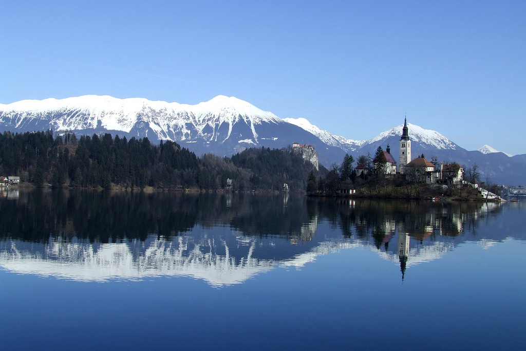 Bled is also a popular travel destination in winter season