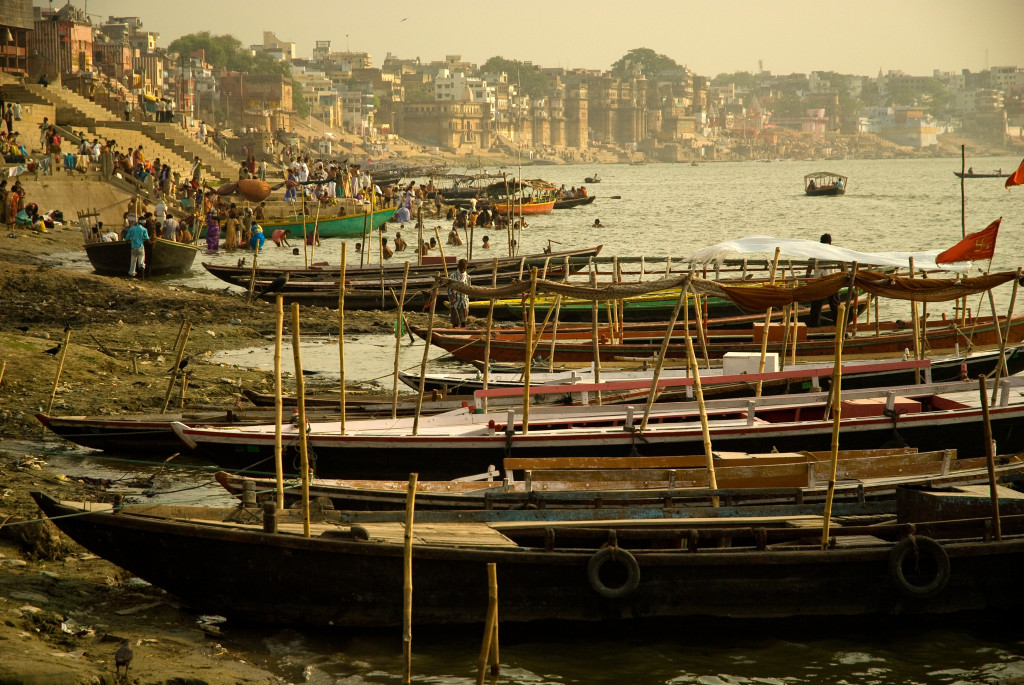Ghasts, Varanasi - Benares, India