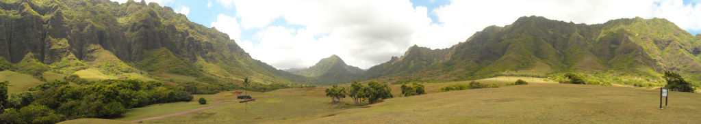 The Ka'a'awa Valley, Hawaii - Panorama