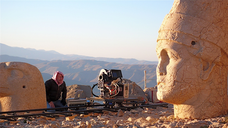 Samsara Behind Scene Mt. Nemrut National Park, Adiyaman, Turkey