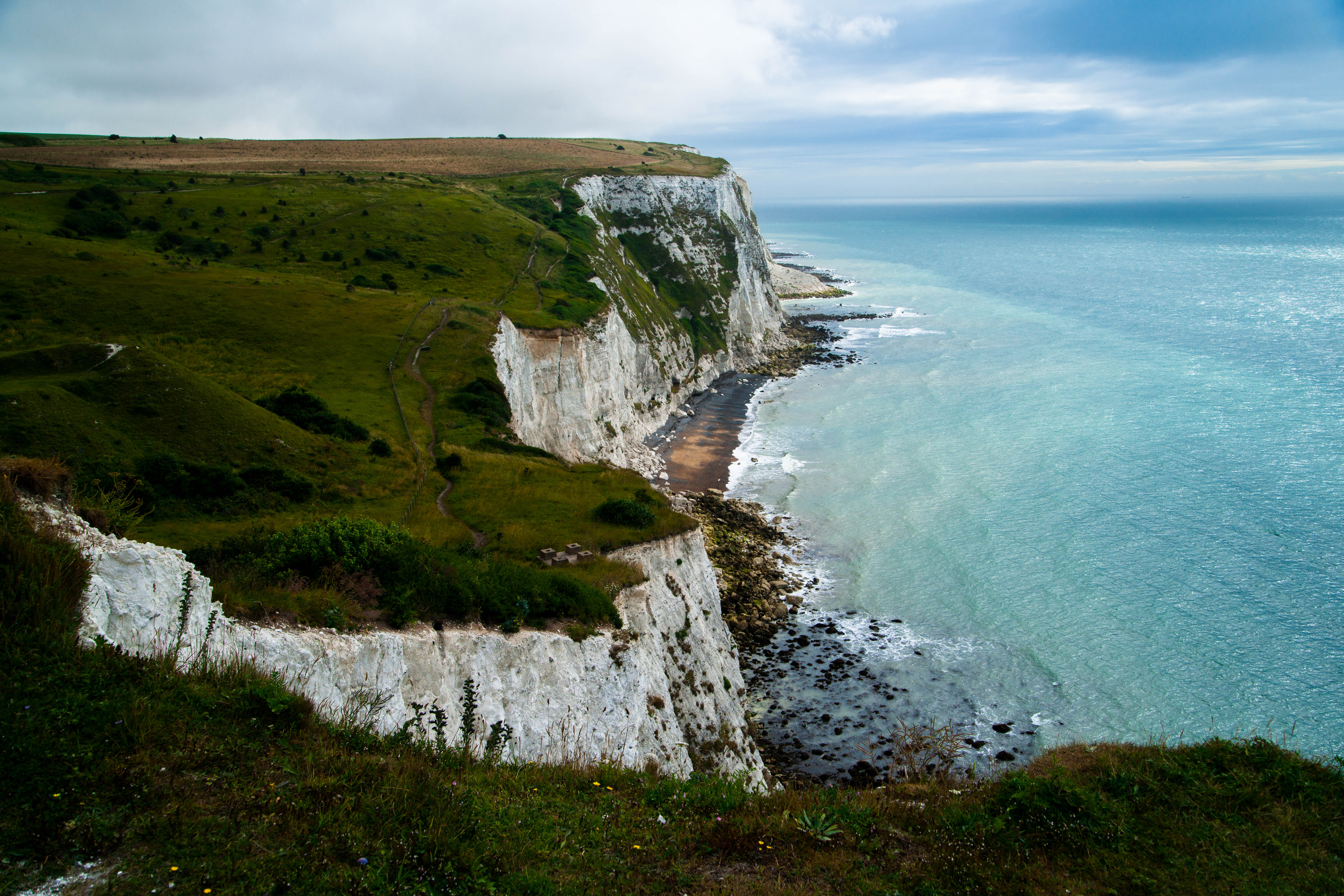 The White Cliffs Of Dover Spectacular Natural Features