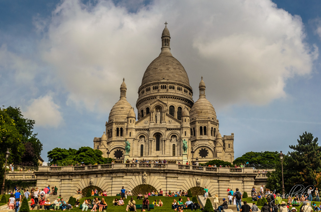 Sacre Coeur in Paris France