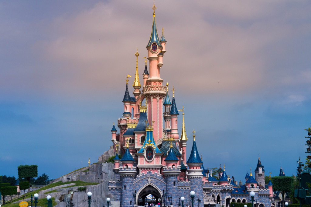 Castle at Disneyland Paris, France