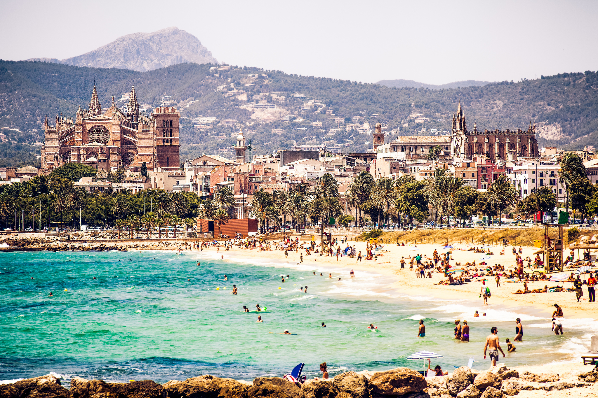 Palma de Mallorca is the largest city on Mallorca