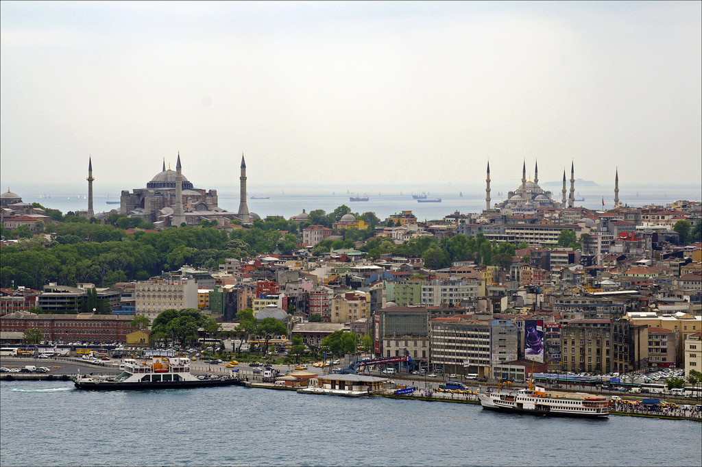 view mosque istanbul