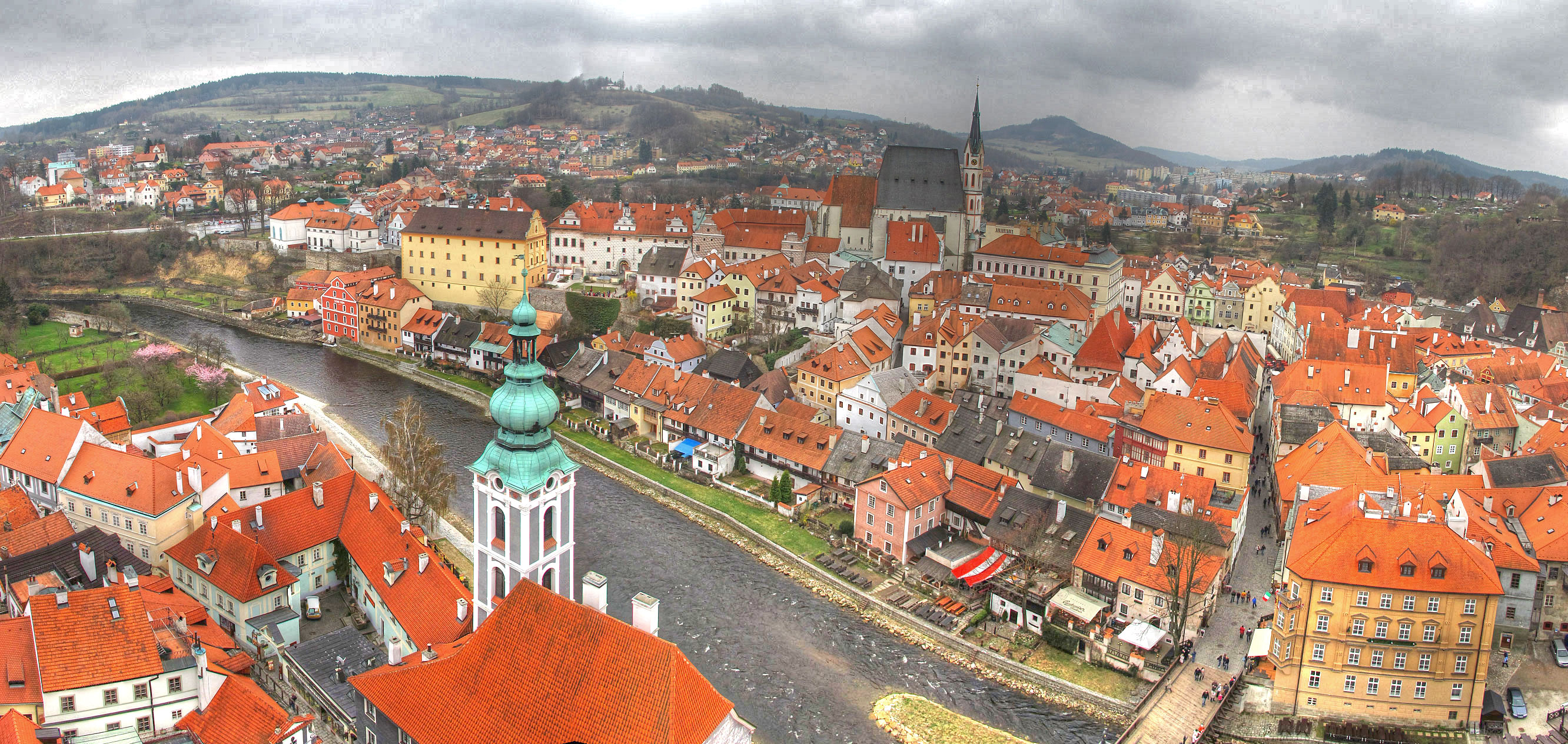 Cesky Krumlov is considered to be a major up-and-coming travel destination in Europe